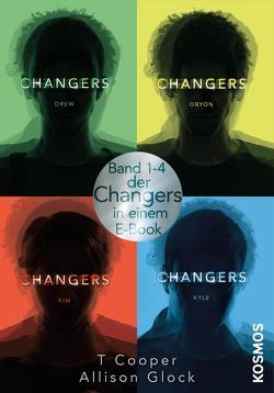 Changers: alle vier Bände in einem E-Book von Cooper,  T, Glock,  Allison