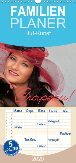 Chapeau! Hut-Kunst – Familienplaner hoch (Wandkalender 2020 , 21 cm x 45 cm, hoch) von Bisz,  Vona, Holger Wagner,  Willy