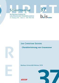Charakterisierung von Grauwasser von Sievers,  Jan Christian
