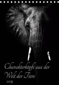 Charakterköpfe aus der Welt der Tiere (Tischkalender 2019 DIN A5 hoch) von und Holger Karius,  Kirsten