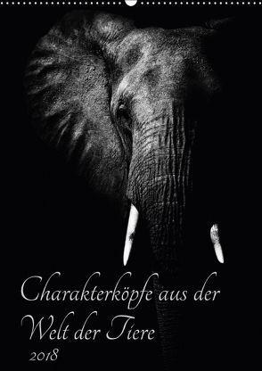 Charakterköpfe aus der Welt der Tiere (Wandkalender 2018 DIN A2 hoch) von und Holger Karius,  Kirsten