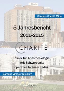 Charité 5-Jahresbericht – 2011–2015 von Spies,  Claudia