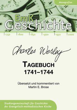 Charles Wesley. Tagebuch 1741-1744 von Brose,  Martin E.