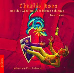 Charlie Bone und das Geheimnis der blauen Schlange von Lohmeyer,  Peter, Nimmo,  Jenny