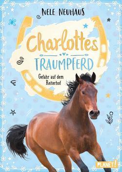 Charlottes Traumpferd 2: Gefahr auf dem Reiterhof von Neuhaus,  Nele, Seidel,  Maria