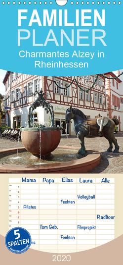 Charmantes Alzey in Rheinhessen – Familienplaner hoch (Wandkalender 2020 , 21 cm x 45 cm, hoch) von Andersen,  Ilona