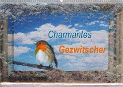 Charmantes Gezwitscher (Wandkalender 2019 DIN A2 quer) von Jäger,  Anette/Thomas
