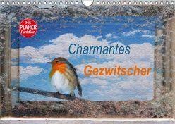 Charmantes Gezwitscher (Wandkalender 2019 DIN A4 quer) von Jäger,  Anette/Thomas