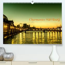Charmantes Hamburg (Premium, hochwertiger DIN A2 Wandkalender 2020, Kunstdruck in Hochglanz) von Muß,  Jürgen