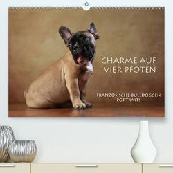 Charme auf vier Pfoten – Französische Bulldoggen Portraits (Premium, hochwertiger DIN A2 Wandkalender 2020, Kunstdruck in Hochglanz) von Behr,  Jana