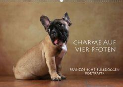 Charme auf vier Pfoten – Französische Bulldoggen Portraits (Wandkalender 2019 DIN A2 quer) von Behr,  Jana