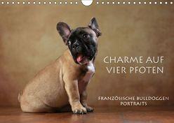 Charme auf vier Pfoten – Französische Bulldoggen Portraits (Wandkalender 2019 DIN A4 quer) von Behr,  Jana