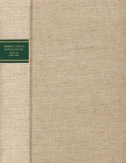 Chartularium Sangallense von Clavadetscher,  Otto P, Herausgeber- und Verlagsgemeinschaft Chartularium Sangallense, Sonderegger,  Stefan