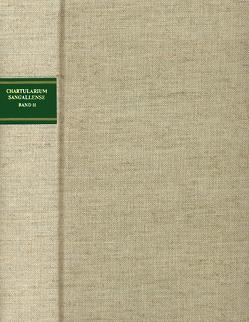 Chartularium Sangallense von Erhart,  Peter, Heidecker,  Karl, Wagner,  Rafael, Zeller,  Bernhard