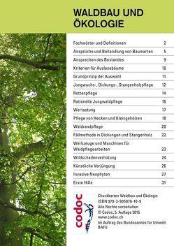 Checkkarte Waldbau und Ökologie