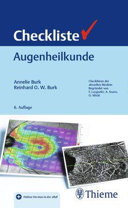 Checkliste Augenheilkunde von Burk,  Annelie, Burk,  Reinhard