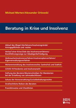 Checkliste Beratung in Krise und Insolvenz von Merten ,  Michael, Orlowski,  Alexander