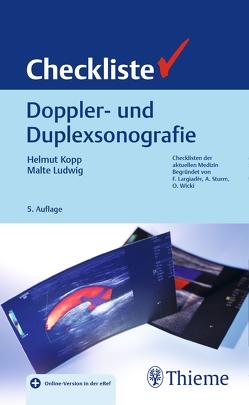 Checkliste Doppler- und Duplexsonografie von Kopp,  Helmut, Ludwig,  Malte