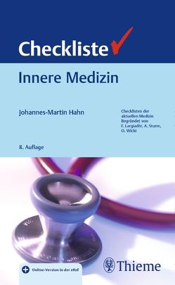 Checkliste Innere Medizin von Hahn,  Johannes-Martin