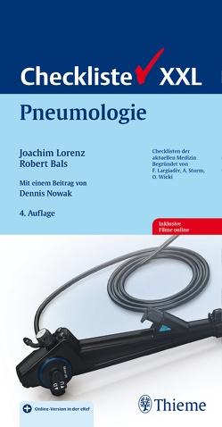 Checkliste Pneumologie von Bals,  Robert, Lorenz,  Joachim