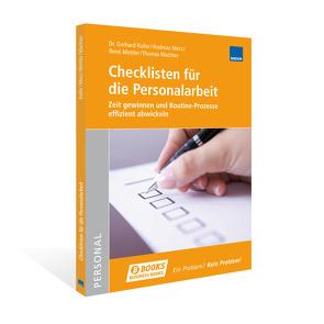 Checklisten für die Personalarbeit von Koller,  Gerhard, Merz,  Andreas, Mettler,  René, Wachter,  Thomas