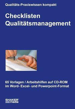 Checklisten Qualitätsmanagement von Ziebe,  Christian