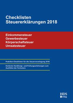 Checklisten Steuererklärungen 2018 von Arndt,  Thomas, Lähn,  Annette, Perbey,  Uwe