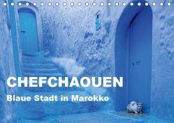 Chefchaouen – Blaue Stadt in Marokko (Tischkalender 2019 DIN A5 quer) von Rusch - www.w-rusch.de,  Winfried