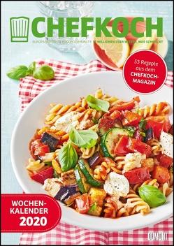 Chefkoch Wochenkalender 2020 – Küchen-Kalender mit 53 Rezepten – Format 21,0 x 29,7 cm – Spiralbindung von DUMONT Kalenderverlag, Gruner und Jahr