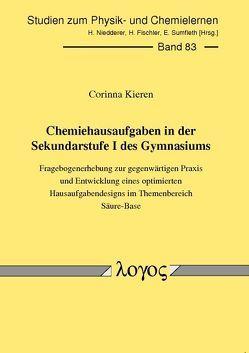Chemiehausaufgaben in der Sekundarstufe I des Gymnasiums von Kieren,  Corinna