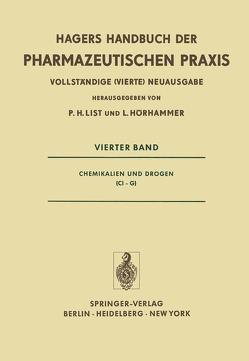 Chemikalien und Drogen (CI–G) von Aurnhammer,  G., Dengler,  B., Glasl,  H., Groebel,  W., Hörhammer,  L., Iyengar,  M.A., List,  P. H., Mühlenbruch,  B., Rattenberger,  M., Rönsch,  G., Roth,  H, Roth,  H.J., Schaette,  R., Schmid,  W., Surborg,  K.-H., Wagner,  H.