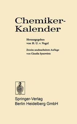 Chemiker-Kalender von Synowietz,  C., Vogel,  H.U.v.