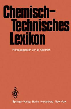 Chemisch-Technisches Lexikon von Osteroth,  D.