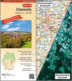 Chemnitz von BKG - Bundesamt für Kartographie und Geodäsie