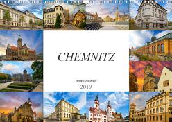 Chemnitz Impressionen (Wandkalender 2019 DIN A3 quer) von Meutzner,  Dirk