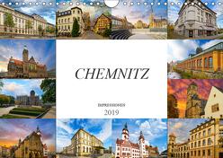 Chemnitz Impressionen (Wandkalender 2019 DIN A4 quer) von Meutzner,  Dirk