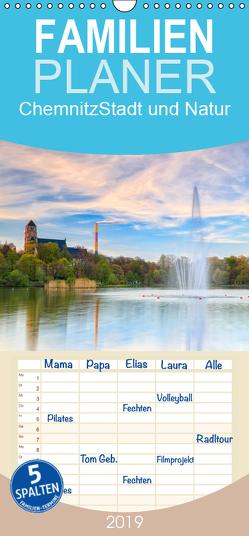 Chemnitz – Stadt und Natur – Familienplaner hoch (Wandkalender 2019 , 21 cm x 45 cm, hoch) von Beyer (Moqui),  Daniela