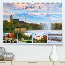 Chemnitz – Stadt und Natur (Premium, hochwertiger DIN A2 Wandkalender 2020, Kunstdruck in Hochglanz) von Beyer (Moqui),  Daniela