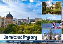Chemnitz und Umgebung (Wandkalender 2020 DIN A4 quer) von Huschka u.a.,  Klaus-Peter