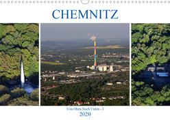 Chemnitz – Von Oben Nach Unten (Wandkalender 2020 DIN A3 quer) von Hultsch,  Heike