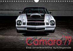 Chevrolet Camaro ´79 (Wandkalender 2019 DIN A4 quer) von von Pigage,  Peter