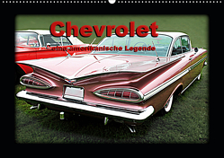 Chevrolet eine amerikanische Legende (Wandkalender 2021 DIN A2 quer) von tinadefortunata