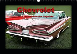Chevrolet eine amerikanische Legende (Wandkalender 2021 DIN A3 quer) von tinadefortunata