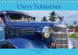 Chevy Schätzchen – 80 Jahre alte Oldtimer in Kuba (Tischkalender 2019 DIN A5 quer) von von Loewis of Menar,  Henning