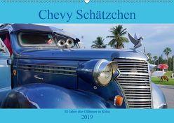 Chevy Schätzchen – 80 Jahre alte Oldtimer in Kuba (Wandkalender 2019 DIN A2 quer) von von Loewis of Menar,  Henning