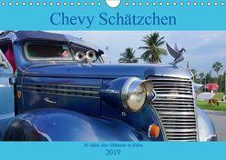 Chevy Schätzchen – 80 Jahre alte Oldtimer in Kuba (Wandkalender 2019 DIN A4 quer) von von Loewis of Menar,  Henning