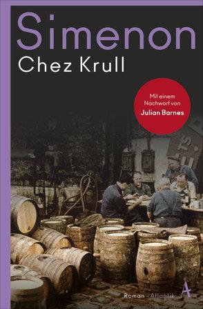 Chez Krull von Bodmer,  Thomas, Simenon,  Georges