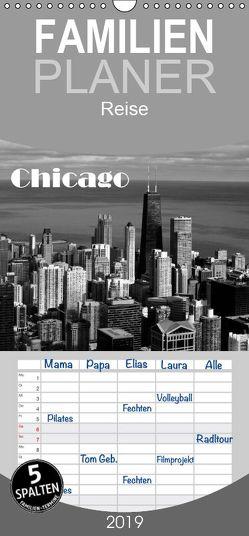 Chicago 2019 – Familienplaner hoch (Wandkalender 2019 , 21 cm x 45 cm, hoch) von Kolbe (Dex - Foto),  Detlef