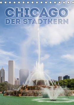 CHICAGO Der Stadtkern (Tischkalender 2018 DIN A5 hoch) von Viola,  Melanie