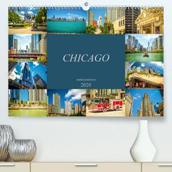Chicago Impressionen (Premium, hochwertiger DIN A2 Wandkalender 2020, Kunstdruck in Hochglanz) von Meutzner,  Dirk